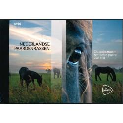 2021 Nederland Prestigeboekje | Nederlandse paardenrassen
