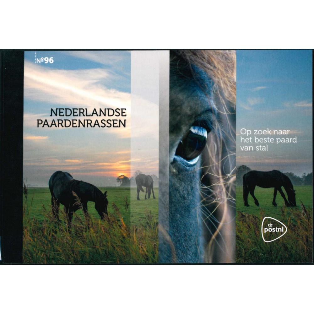 2021 Nederland Prestigeboekje   Nederlandse paardenrassen