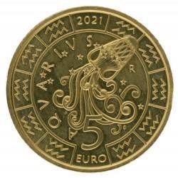 San Marino 5 euro 2021 'Waterman'