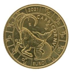 San Marino 5 euro 2021 'Steenbok'