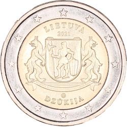 Litouwen 2 euro 2021 'Dzukija'