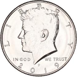 USA Half Dollar Kennedy 2019