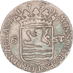 Zeeland 6 stuiver 1790
