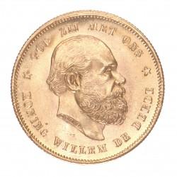 Koninkrijksmunten Nederland 10 gulden Willem III - Willekeurig jaar
