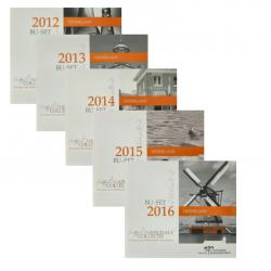 Nederland BU-set Nederlands Werelderfgoed 2012 t/m 2016