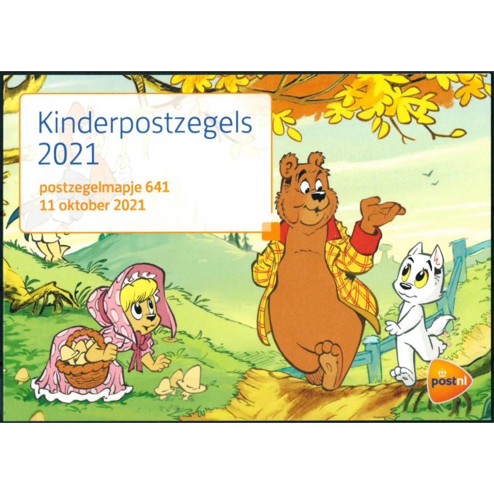 2021 Nederland postzegelmapje  Kinderpostzegels