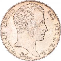 Koninkrijksmunten Nederland 3 gulden 1824