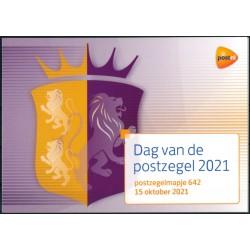 2021 Nederland postzegelmapje| Dag van de postzegel