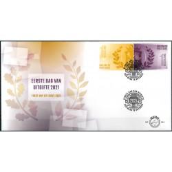 2021 Nederland FDC | Dag van de postzegel