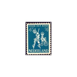 1958 Kinderbedankkaart Kinderzegels