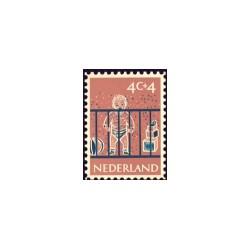 1959 Kinderbedankkaart Kinderzegels