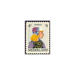 1960 Kinderbedankkaart Kinderzegels