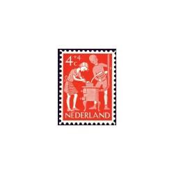 1962 Kinderbedankkaart Kinderzegels