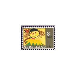 1965 Kinderbedankkaart Kinderzegels