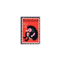 1967 Kinderbedankkaart Kinderzegels