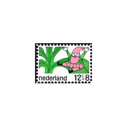 1968 Kinderbedankkaart Kinderzegels