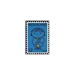 1969 Kinderbedankkaart Kinderzegels