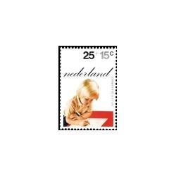 1972 Kinderbedankkaart Kinderzegels