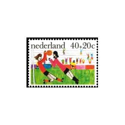 1976 Kinderbedankkaart Kinderzegels
