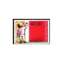 1978 Kinderbedankkaart Kinderzegels