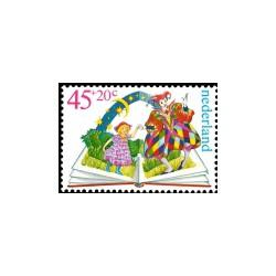 1980 Kinderbedankkaart Kinderzegels