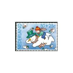 1983 Kinderbedankkaart Kinderzegels