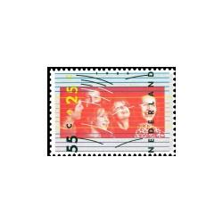 1986 Kinderbedankkaart Kinderzegels