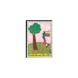 1987 Kinderbedankkaart Kinderzegels