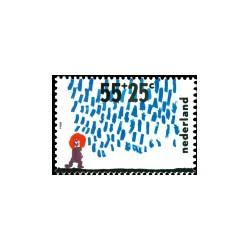 1988 Kinderbedankkaart Kinderzegels