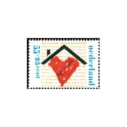1989 Kinderbedankkaart Kinderzegels