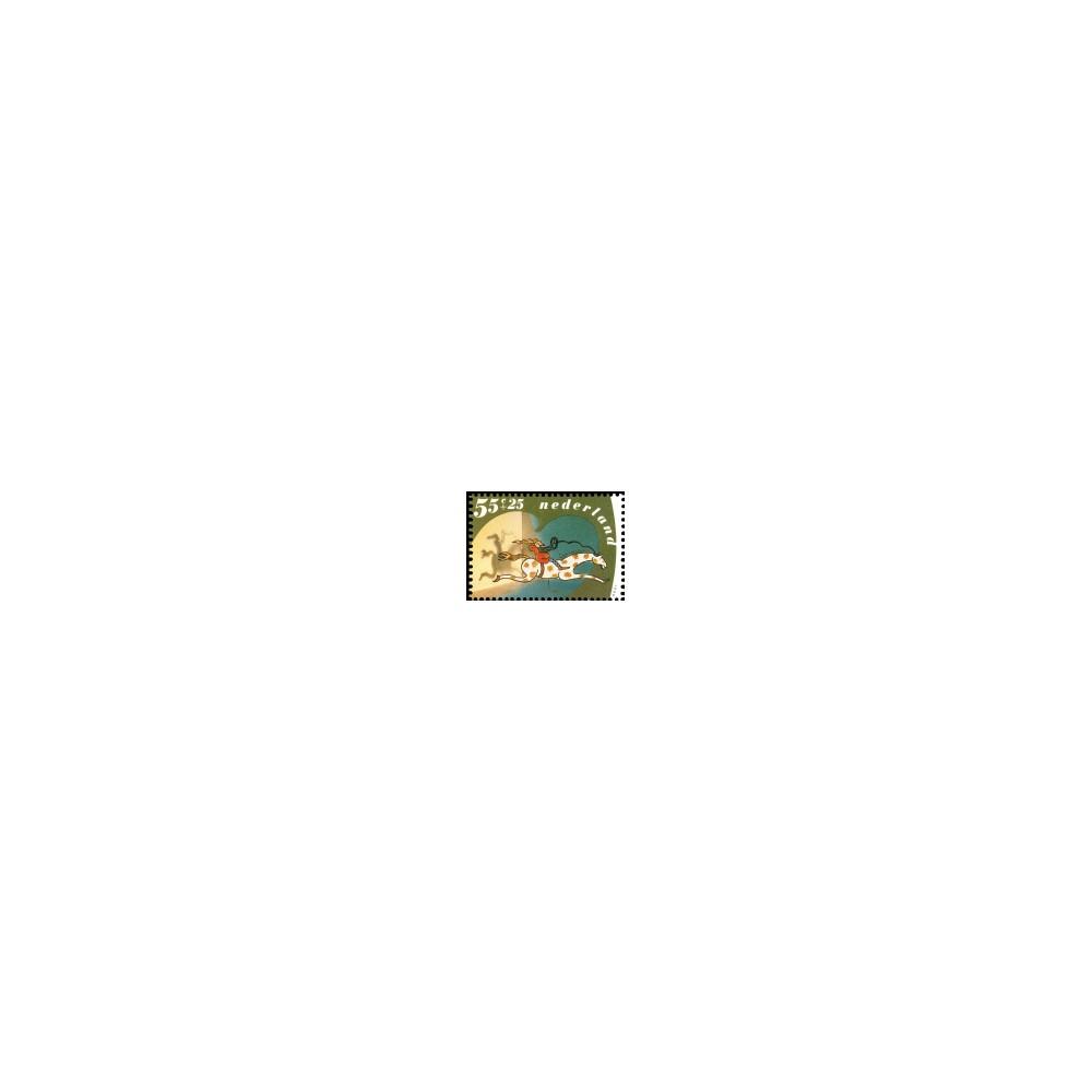 1990 Kinderbedankkaart Kinderzegels