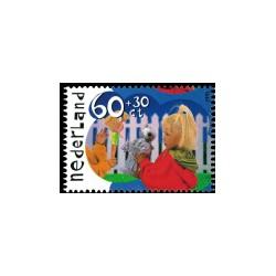 1991 Kinderbedankkaart Kinderzegels