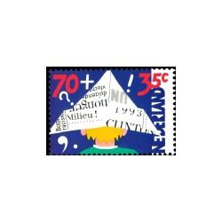 1993 Kinderbedankkaart Kinderzegels