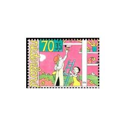 1994 Kinderbedankkaart Kinderzegels