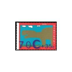 1995 Kinderbedankkaart Kinderzegels