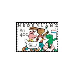 1998 Kinderbedankkaart Kinderzegels