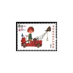 1999 Kinderbedankkaart Kinderzegels