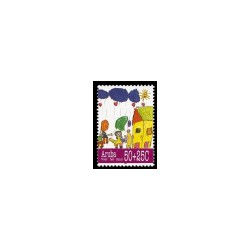 1995 Aruba Kinderzegels.