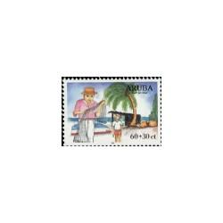 1999 Aruba Kinderzegels.