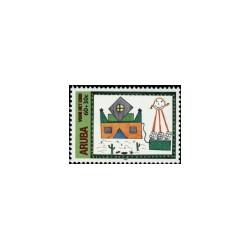 2000 Aruba Kinderzegels.