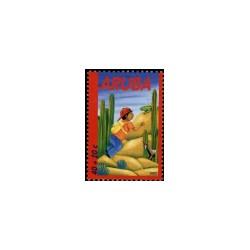 2002 Aruba Kinderzegels.