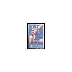 1969 Suriname Kinderzegels.
