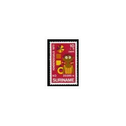 1972 Suriname Kinderzegels.