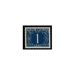 1950 Nieuw Guinea serie Cijfer - Catnrs. 1-9