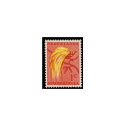 1954-1958 Nieuw Guinea Paradijsvogels.