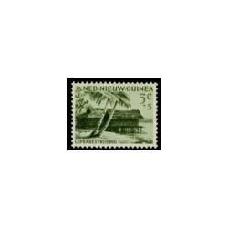 1956 Nieuw Guinea Leprazegels.