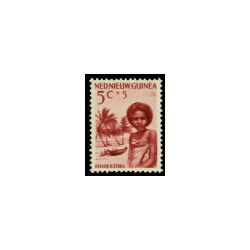 1957 Nieuw Guinea Kinderzegels.