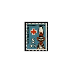 1958 Nieuw Guinea Rode-Kruiszegels.