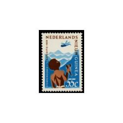 1959 Nieuw Guinea Sterrengebergte.