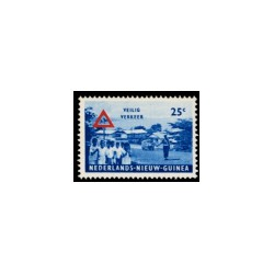 1962 Nieuw Guinea Veilig verkeer.